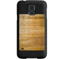Ezekial 25:17 (Reliced Background) Samsung Galaxy Case/Skin