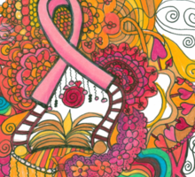Pink Ribbon Sticker