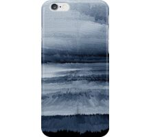 Abstract black painting 2 iPhone Case/Skin
