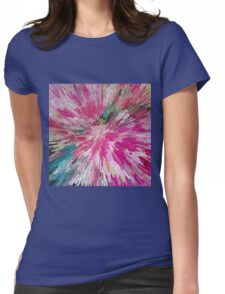 Abstract flower pattern 3 Womens Fitted T-Shirt