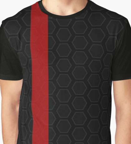 Hyperion Inspired Black Graphic T-Shirt