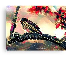 Do Finches Dream of Becoming Nightingales? Canvas Print