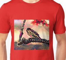 Do Finches Dream of Becoming Nightingales? Unisex T-Shirt