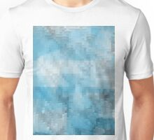 Abstract blue pattern 3 Unisex T-Shirt