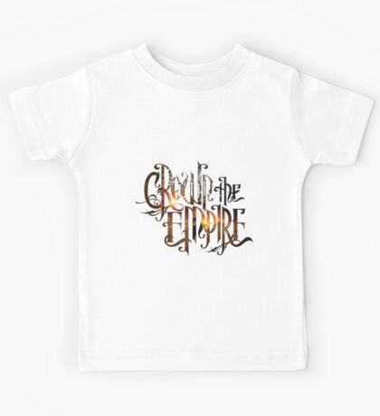 "Crown The Empire ""The Fallout"" Logo Kids Tee"
