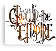 """Crown The Empire """"The Fallout"""" Logo Canvas Print"""