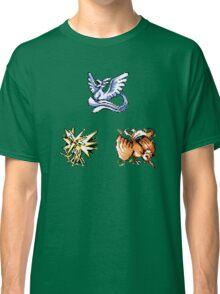 The Legendary Birds - Pokemon Red & Blue Classic T-Shirt