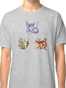 The Legendary Birds - Pokemon Red & Blue Classic T-Shirt