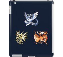 The Legendary Birds - Pokemon Red & Blue iPad Case/Skin