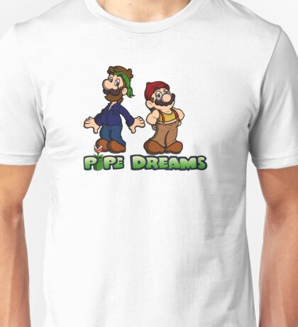 Mario and Luigi - Pipe Dreams Unisex T-Shirt