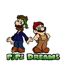 Mario and Luigi - Pipe Dreams Photographic Print