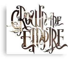 "Crown The Empire ""Limitless"" Logo Metal Print"