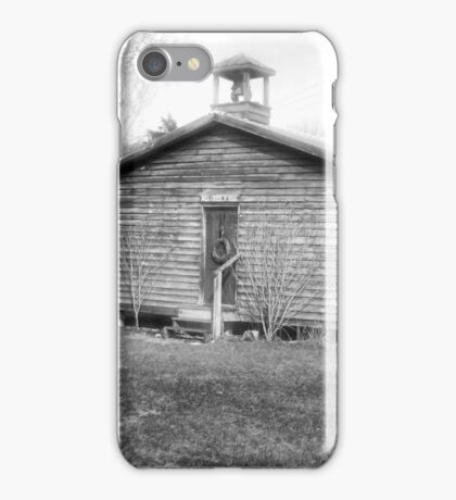 Mill Creek One Room Schoolhouse iPhone Case/Skin