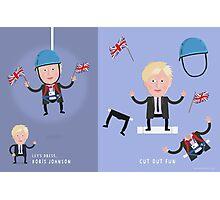 Lets Dress...Boris Johnson No.1 Photographic Print