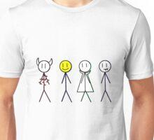 Eddsworld Monster Apartments AU Car Decals Unisex T-Shirt