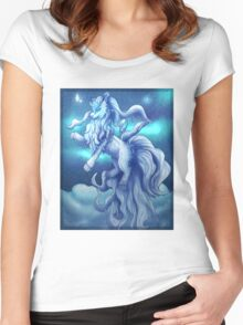 Pokemon Alola Form Ninetales Women's Fitted Scoop T-Shirt