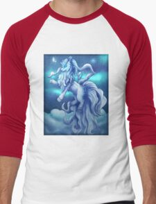 Pokemon Alola Form Ninetales Men's Baseball ¾ T-Shirt