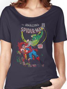 Spider-Man vs Vulture & Kraven The Hunter Women's Relaxed Fit T-Shirt