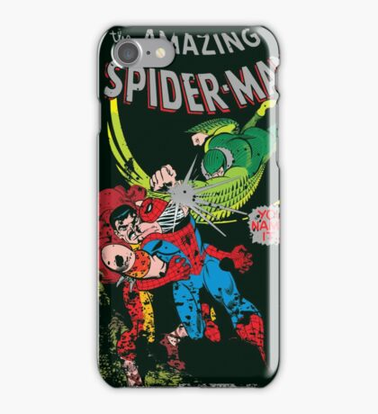 Spider-Man vs Vulture & Kraven The Hunter iPhone Case/Skin