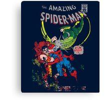 Spider-Man vs Vulture & Kraven The Hunter Canvas Print