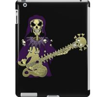 Dead Guitar Player iPad Case/Skin