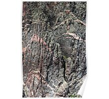 Painted Wall Black Canyon of the Gunnison Poster