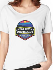 GATLINBURG TENNESSEE GREAT SMOKY MOUNTAINS NATIONAL PARK SMOKIES 2 Women's Relaxed Fit T-Shirt