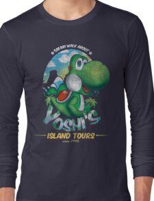 YOSHI'S ISLAND TOURS ! Long Sleeve T-Shirt