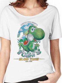 YOSHI'S ISLAND TOURS ! Women's Relaxed Fit T-Shirt
