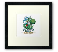 YOSHI'S ISLAND TOURS ! Framed Print