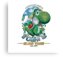 YOSHI'S ISLAND TOURS ! Canvas Print