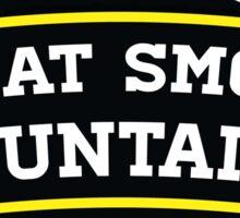 GATLINBURG TENNESSEE GREAT SMOKY MOUNTAINS NATIONAL PARK SMOKIES 4 Sticker