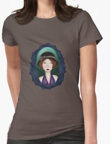1920s Girl Womens Fitted T-Shirt