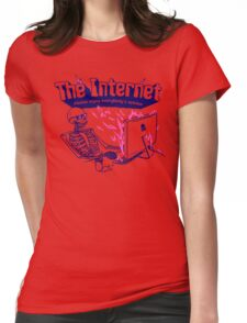 The Internet Womens Fitted T-Shirt