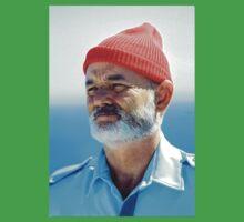 Bill Murray as Steve Zissou  One Piece - Short Sleeve