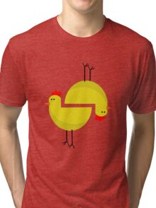 RED CHICKEN  Tri-blend T-Shirt