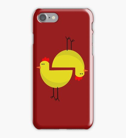 RED CHICKEN  iPhone Case/Skin