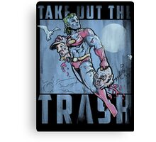 Take Out the Trash Canvas Print