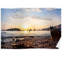 Summer time - Sunset Sea Poster
