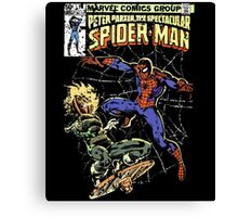 Spider-Man vs Jack-O-Lantern Canvas Print