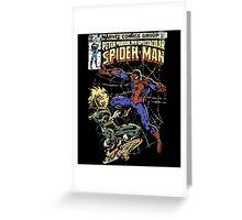 Spider-Man vs Jack-O-Lantern Greeting Card