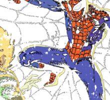 Spider-Man vs Jack-O-Lantern Sticker