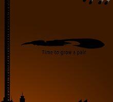 Minimalist ODST Poster (portrait) by Jordan Garvey