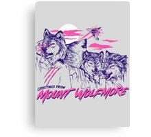 Mount Wolfmore Canvas Print
