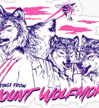 Mount Wolfmore Sticker