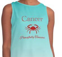 Cancer - Peacefully Tenacious Contrast Tank