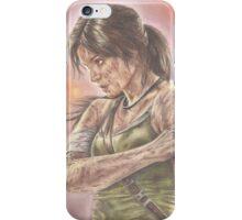 Miss Croft iPhone Case/Skin