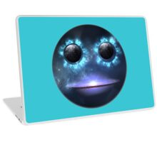 Smiley Face Duck Galaxy. VividScene Laptop Skin