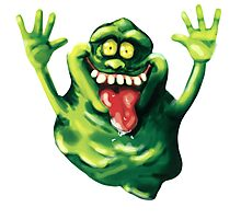 Ghastly Green Ghoulie  Photographic Print
