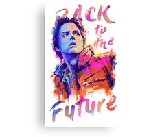 Marty in color Canvas Print